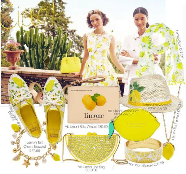 ケイトスペード レモン ワンピース - Google 検索