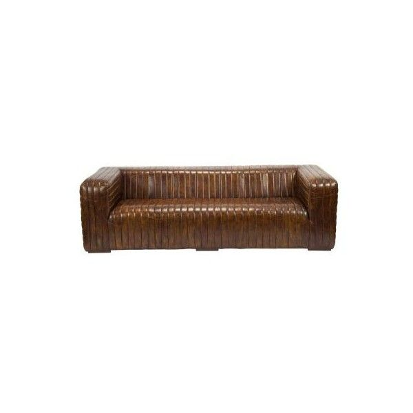"""Moes Home Collection PK-1009 Castle 94.5"""" Wide Sofa Dark brown Indoor ($4,365) ❤ liked on Polyvore featuring home, furniture, sofas, dark brown, indoor furniture, standard, dark brown couch, chocolate sofa, moe's home furniture and chocolate brown couch"""