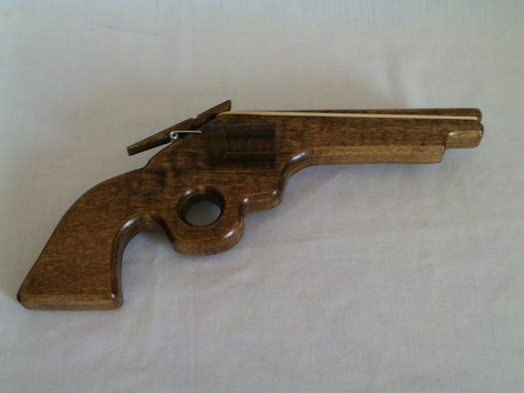 17 Best Images About Wooden Guns And Rubber Band Guns On