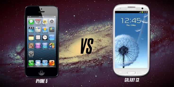 Iphone 5 vs Galaxy S3... ¿Cuál es el mejor smartphone?