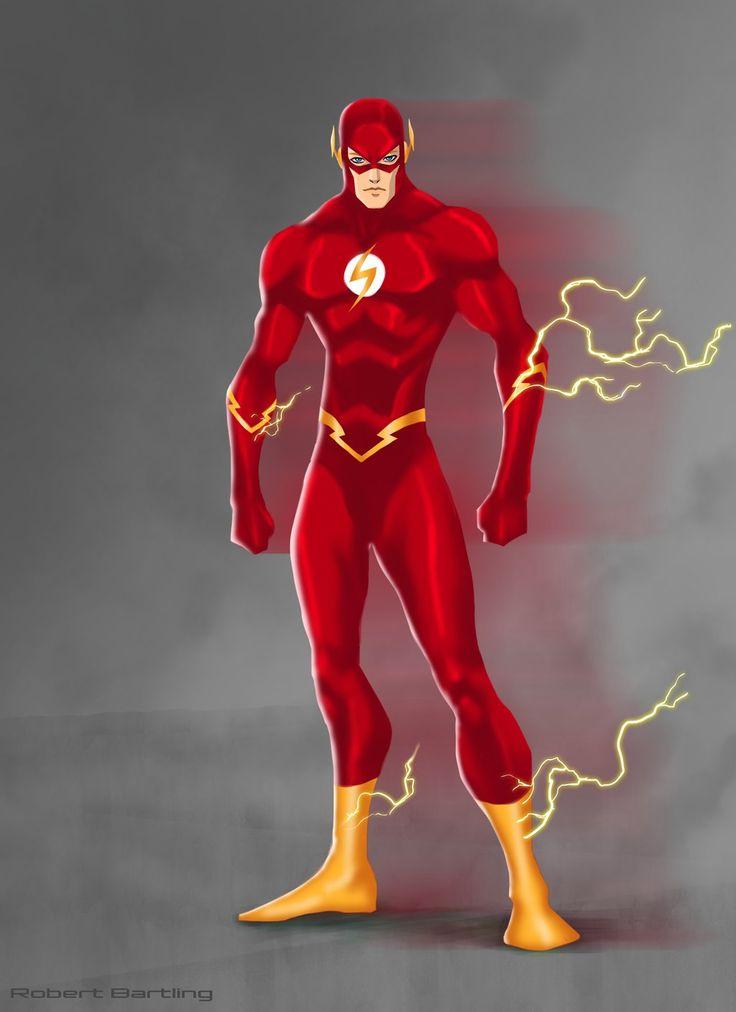 The flash by robert bartling flash pinterest comic - Super hero flash ...