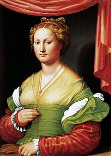 Vannozza dei Cattanei (13 July 1442 – 24 November 1518) was an Italian noblewoman who was one of the many mistresses of Cardinal Rodrigo Borgia, future Pope Alexander VI. Among them, she was the one whose relationship with him lasted the longest.