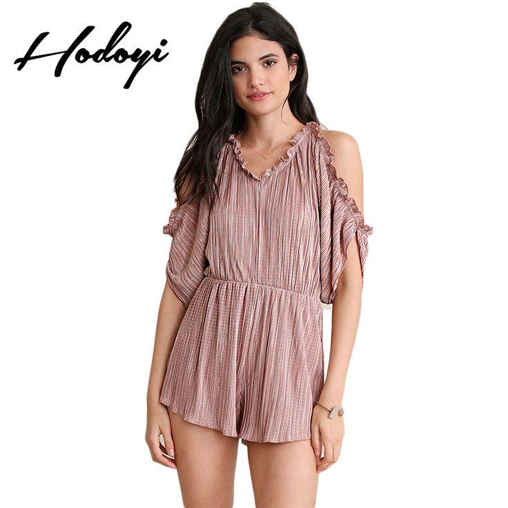 Summer Playsuit Women Short Jumpsuit Plus Size Overalls Shorts       sweet Strapless V Neck  lace pants after  colors Femme #Affiliate