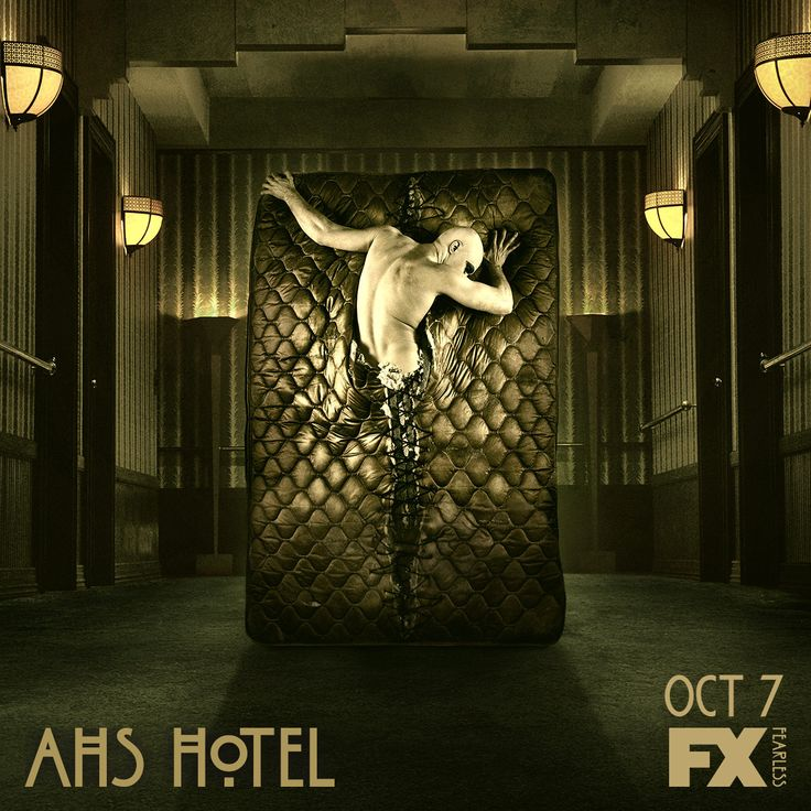 Ahs Hotel Promo Poster