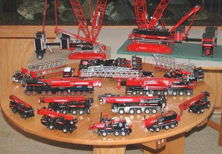 Everything Mammoet Cranes And Trucks Diecast Trucks