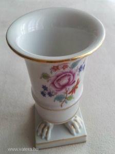 Herendi porcelán karmos váza - 5000 Ft