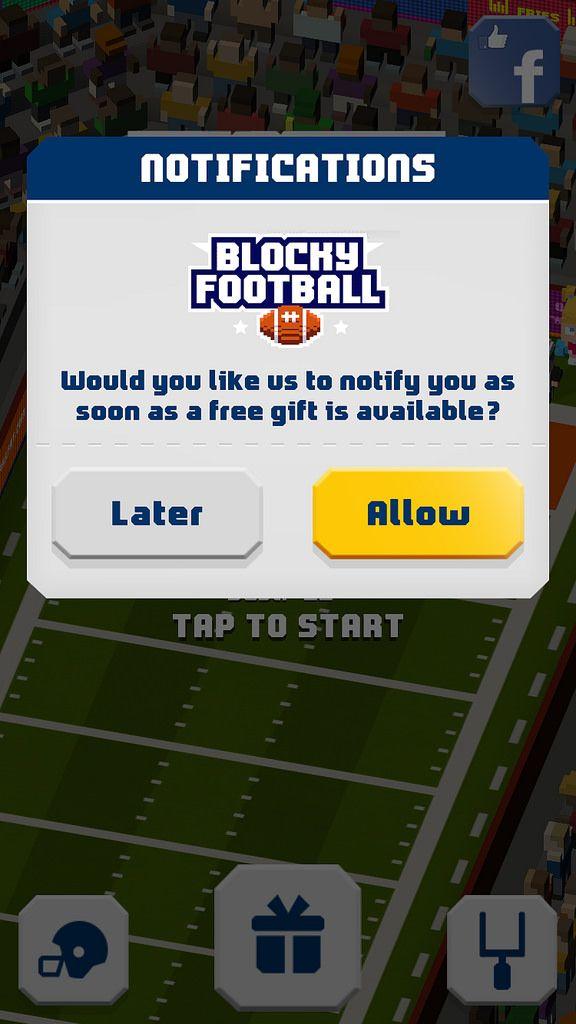 https://flic.kr/p/DqbUm2 | Blocky Football - Endless Arcade Runner