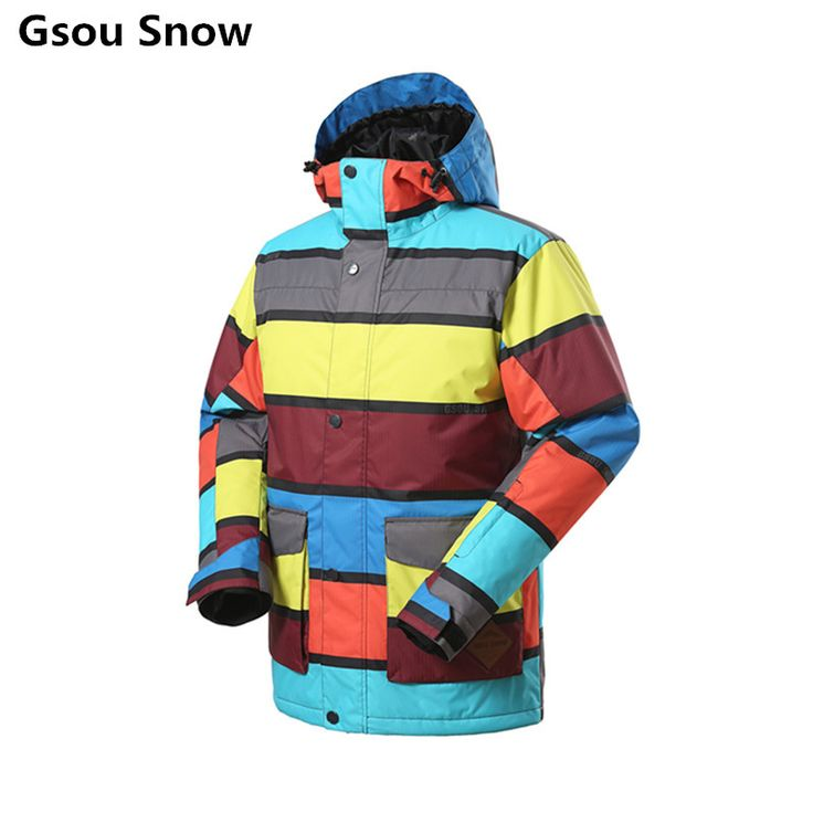 ==> [Free Shipping] Buy Best Gsou Snow Brand Ski Jacket Men Snowboard Jacket Men Outdoor Sport Skiwear Chaquetas Hombre Esqui Warm Waterproof Online with LOWEST Price | 32434787105