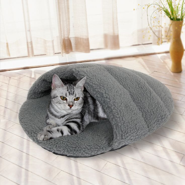 Free Shipping Floor Price Cat Bed Pet Mat For Dogs Warm Cotton Cats House For Pets Puppy Kitten House Pet Furnature Applicable