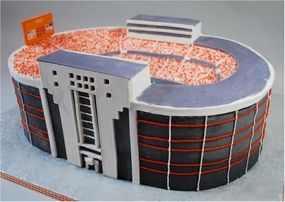 University of Tennessee Neyland Stadium Cake.  Go Vols!  Buttercream with a little modeling chocolate.