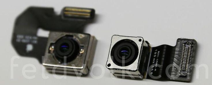 """Piezas filtradas de la cámara del iPhone 6 revelan """"estabilización de imagen óptica"""" - http://www.esmandau.com/162770/piezas-filtradas-de-la-camara-del-iphone-6-revelan-estabilizacion-de-imagen-optica/"""