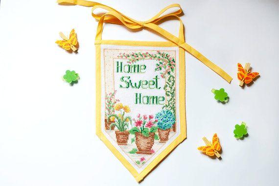 Home Sweet Home Decorazione da parete per la di BrightSpotOfColour, €33.00
