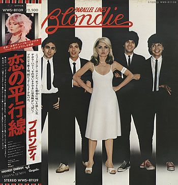 Blondie,Parallel Lines - Heart Of Glass Obi,Japan,Deleted,LP RECORD,227308