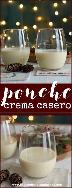 El ponche crema es una bebida tradicional navideña en Venezuela, se sirve frío y se prepara a base de huevos, leche condensada y licor