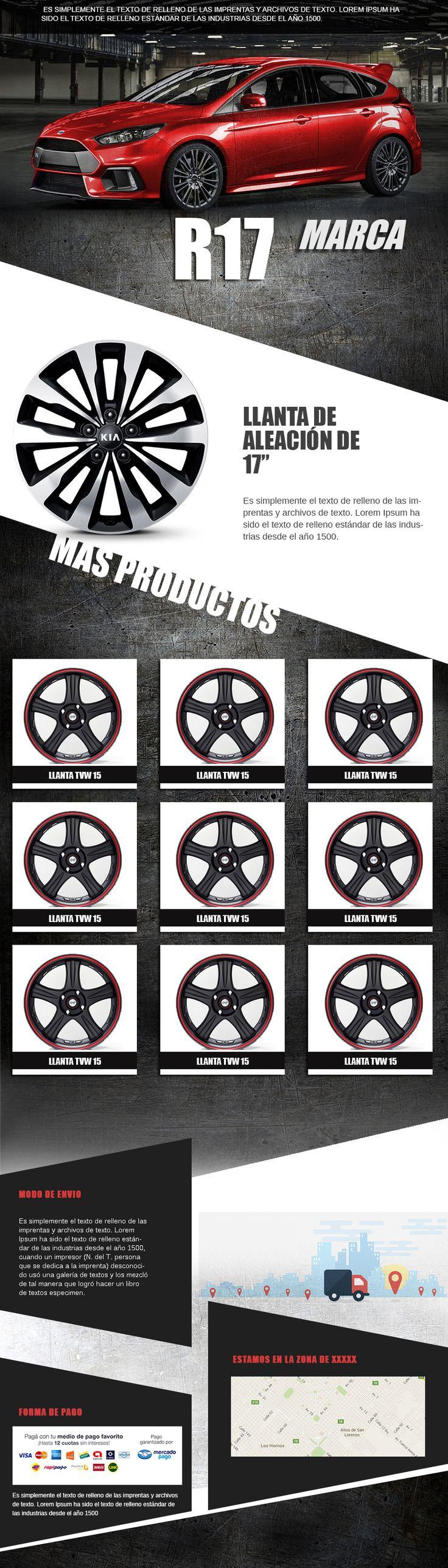 7 best Plantillas Editables Mercadolibre Rubro automotor images on ...