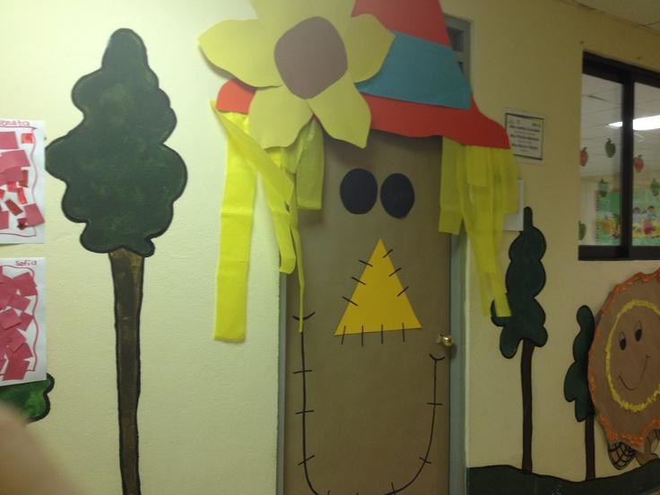 Scarecrow Door Decoration Classroom ~ Best images about classroom door decorations on