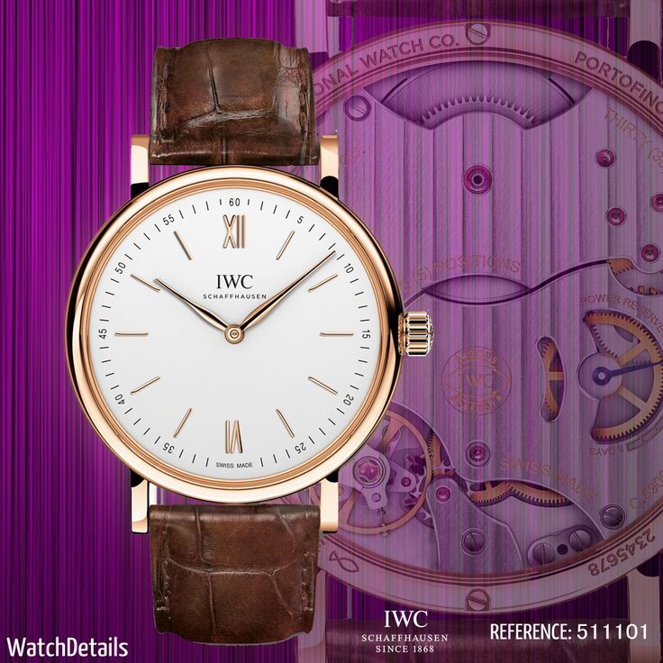 Read more Watches Portofino Hand-Wound Pure Classic Reference 5111 http://www.watchdetails.com/2015/02/watches-portofino-hand-wound-pure.html