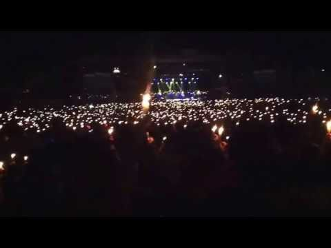 ▶ Candle lighting at Creation Fest 2013 - YouTube  One of my favorite parts of the whole festival. @Katelyn Miller