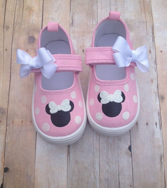 Light Pink Minnie Mouse Shoes
