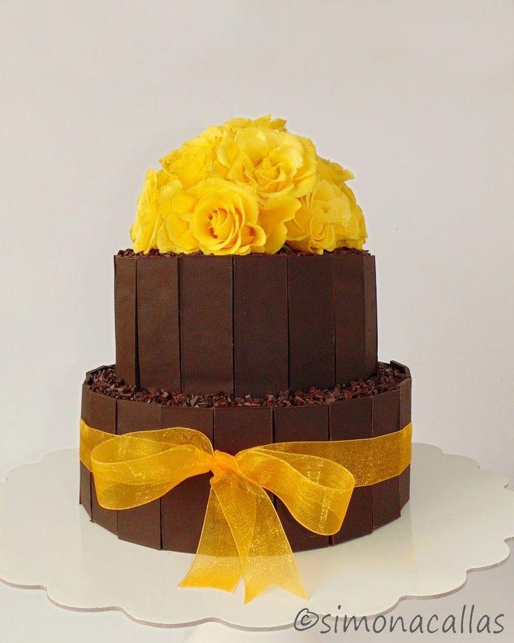 Chocolate&Vanilla Cake by simonacallas