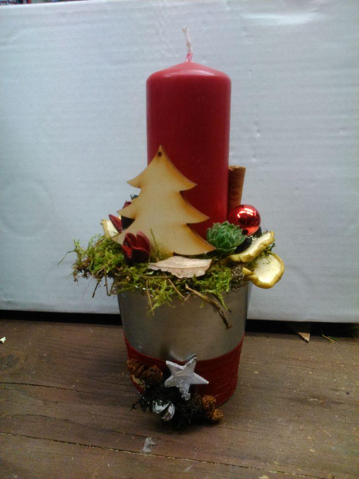 Christmas  decoration,Karácsonyi asztaldísz  Forest Garden Studio