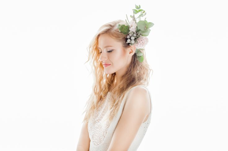 INNA Studio_ flowers for hair / kwiaty do włosów / ozdoby boho / fot. Bajkowe Śluby