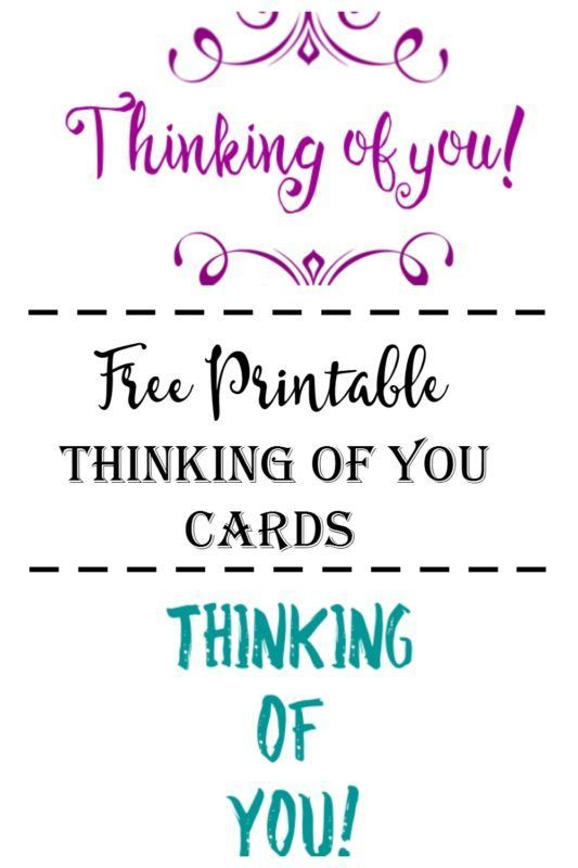photograph regarding Printable Thinking of You Card titled No cost Printable Wanting to know of On your own Playing cards Processed