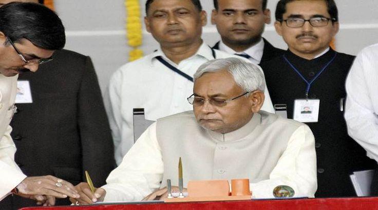 Nitish Kumar sworn in as Bihar CM for fifth time