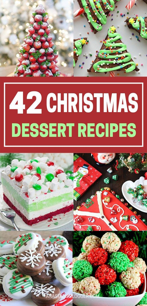 42 Best Christmas Desserts - Recipes and Christmas Treats to Try