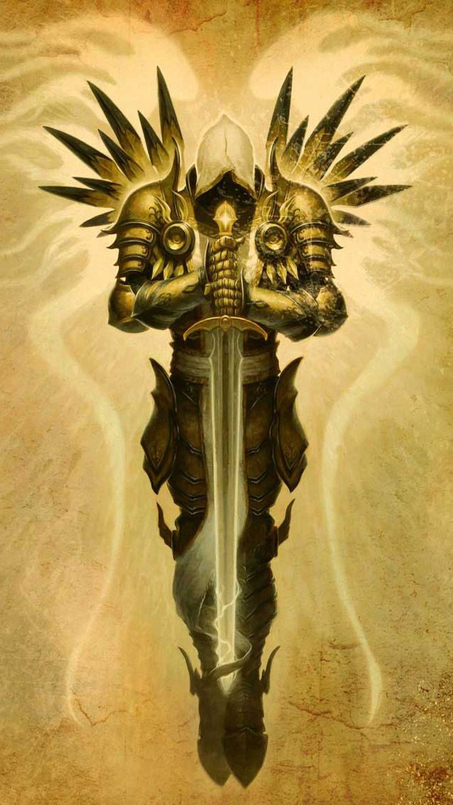 Diablo. A really good piece of concept art.  i don't know the original source. if anybody knows the original source and wants me to add it i would be more than happy to. #conceptart #videogames #art (repinned from @Stephanie Gray)