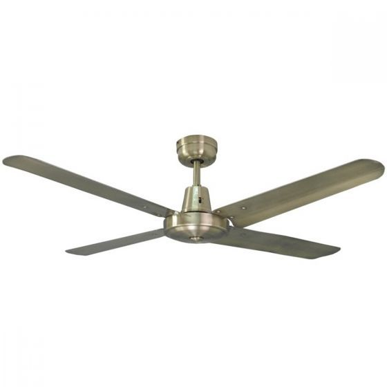 "Mercator Swift Metal 56"" Ceiling Fan"