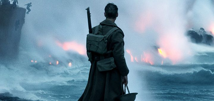 Watch the movie trailer for director Christopher Nolan's WWII drama.