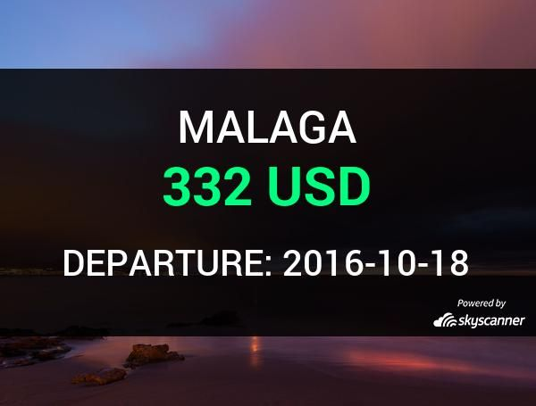 Flight from Chicago to Malaga by Avia #travel #ticket #flight #deals   BOOK NOW >>>