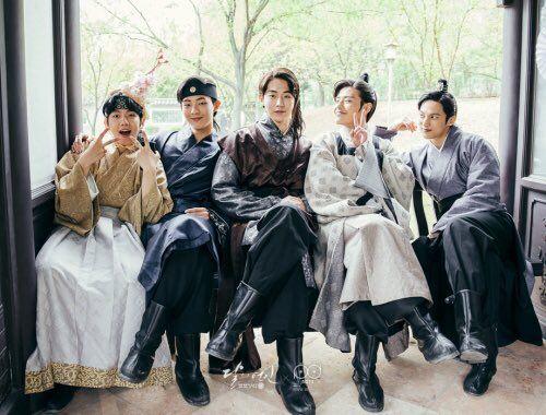 연인 – 보보경심: 려 / Moon Lovers / Moon Lovers – Scarlet Heart: Ryeo  : Princes!!! Baekhyun, Jisoo, Nam Joo Hyuk, Kang Ha Neul and Yoon Sun Woo