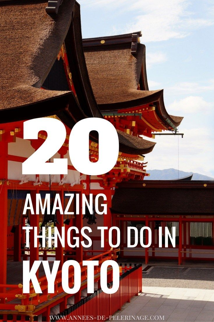 A comprehensive list of 20 fun things to do in Kyoto, Japan. The ancient city has just so many tourist attractions in Kyoto that a week will not be enough. click for more.