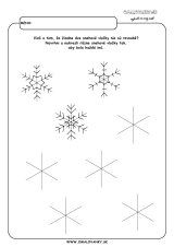 aktivita 00469 2 zima navrhni vlocky