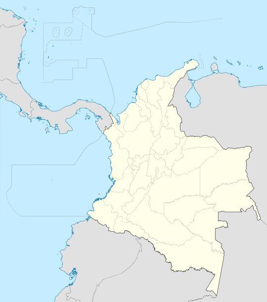 Tibasosa ubicada en Colombia