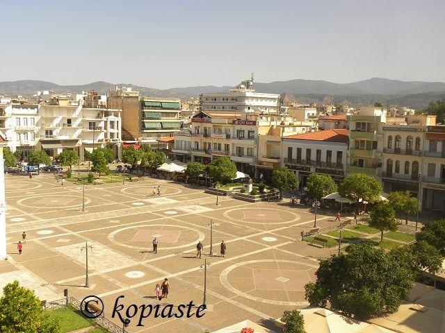 Central Square of Sparti