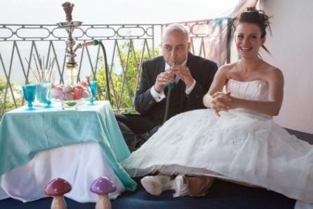 wedding in wonderland...caterpillar corner