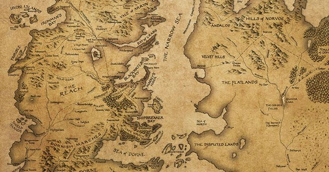 32 best maps images on pinterest maps cards and map of westeros - Westeros map high resolution ...