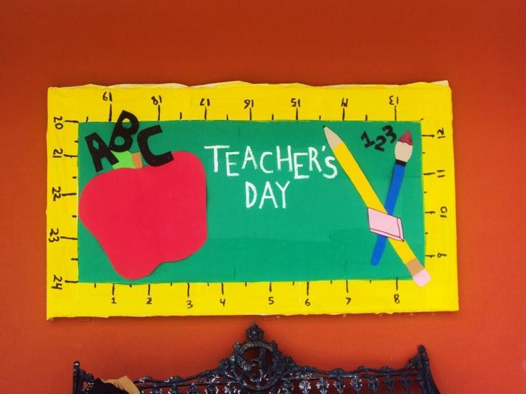 Classroom Decoration On Teachers Day : Teachers day decoration in class pixshark