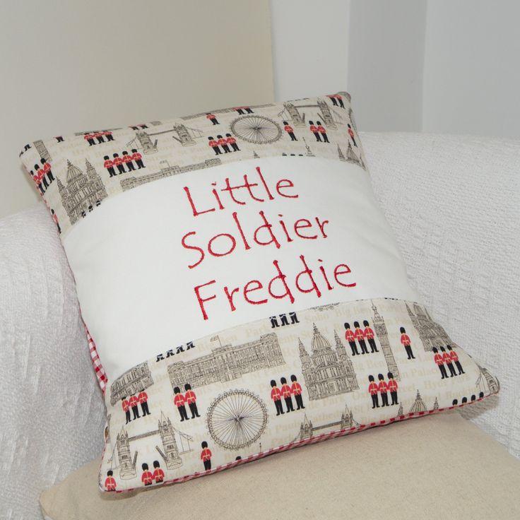 Little Soldier Cushion
