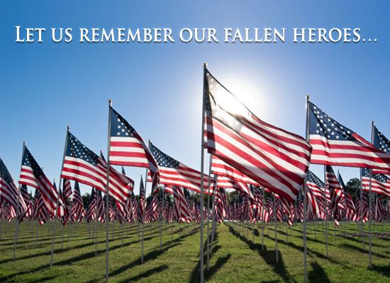 Honor our country's heroes with this solemn eCard. - more free ecards at MyFunCards.com