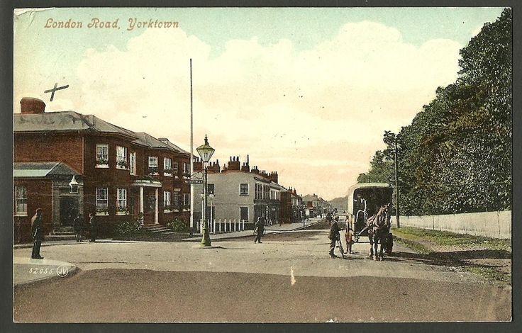 The Duke of York (left), London Road, York Town, Camberley.