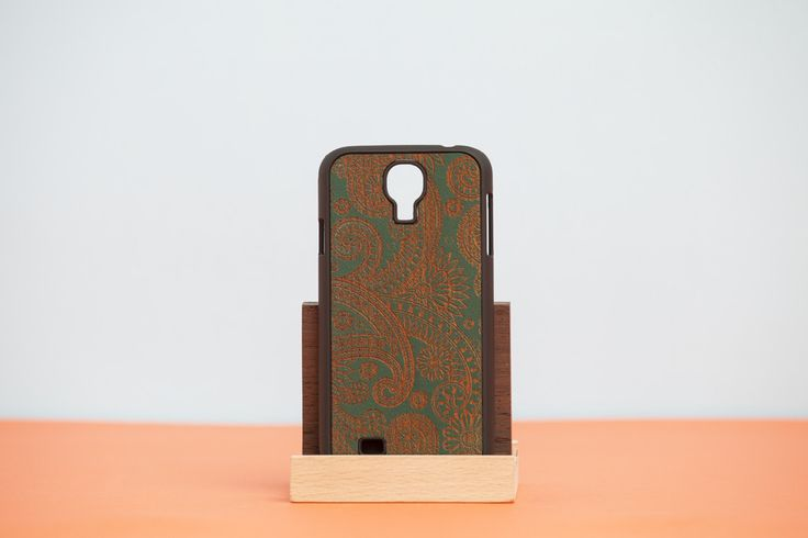 "Cover Samsung ""DAMASKED"" - Green"