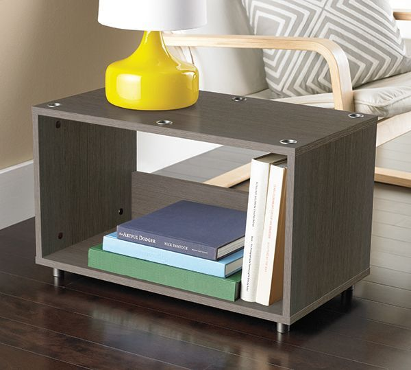 From The Container Store · Our Vario Stacking Console Is The Perfect Side  Table As Well As Storage For Books And