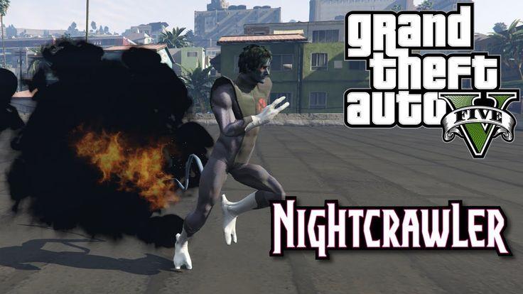 GTA 5 моды Nightcrawler телепортируется в Лос-Сантос!