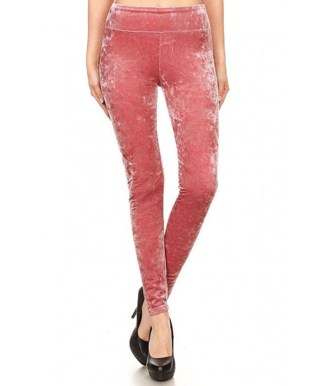 d2aab9ec3392 Womens Shiny Crushed Velvet Joggers Pants With Pockets - Legging-mauve -  CM1878O4T64,Women's Clothing, Pants #Pants #fashion #style #Pants