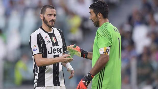 Juventus' defender Leonardo Bonucci warns the other three semifinalists