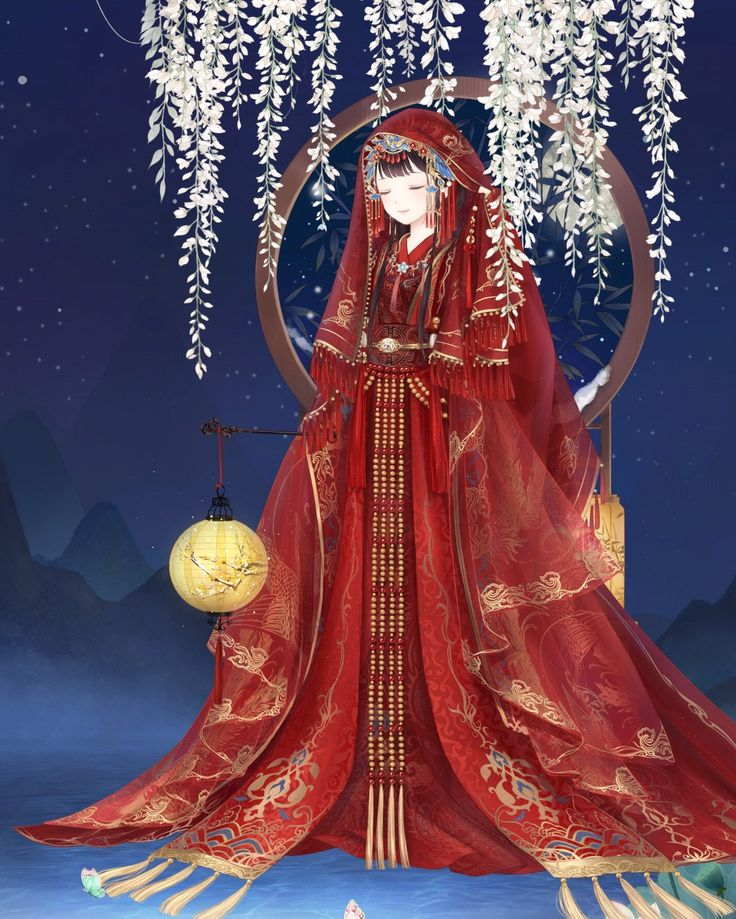 Chinese wedding dress theme